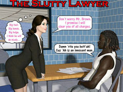 interracial sex toons